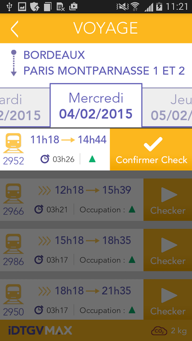 Capture n°3 de iDTGV max