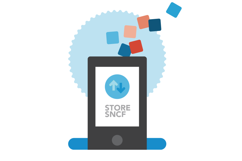 Applications du Store Sncf