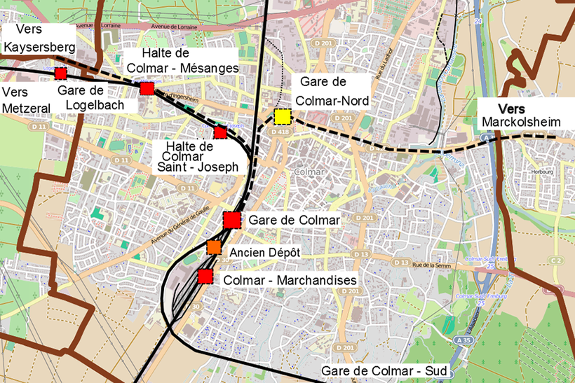 open streetmap geoservices sncf